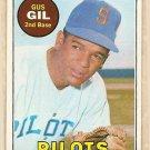 1969 Topps baseball card #651 Gus Gil NM Seattle Pilots
