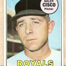 1969 Topps baseball card #211 Galen Cisco EX