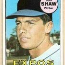 1969 Topps baseball card #183 (B) Don Shaw EX-