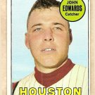 1969 Topps baseball card #186 John Edwards VG