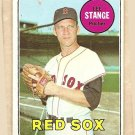 1969 Topps baseball card #148 (C) Lee Stange EX