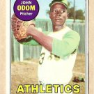 1969 Topps baseball card #195 John Odom NM