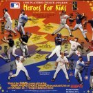 1998 Fleer Heroes For Kids Commemorative promo card, NM/M Greg Maddux, Mark McGwire