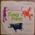 1969 Scholastic Records Arrow book of Funny Poems 33 1/3 record album with sleeve