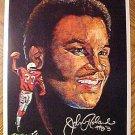 "1970 football Pro-Star Portrait - Johnny Roland, St. Louis Cardinals 7.5"" x 10"""
