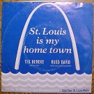 Arch Records 45 rpm Tex Beneke & Russ David, St. Louis Blues, St. Louis is my Home town, EX