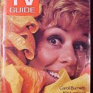 TV Guide magazine July 1, 1972 issue #505 Carol Burnett EX