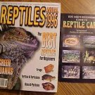 Reptiles Magazine - Annual 1996 - Snakes, turtles, lizards, Green Iguana, Includes Care guide