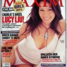 Maxim Magazine September 2002 Lucy Liu, Charlies Angels, Biker Gangs, NFL, Are you a girl? EX
