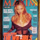 Maxim Magazine June 2000 Sarah Michelle Gellar, Katie Holmes, Alyssa Milano, sex w/ 300 girls, NM