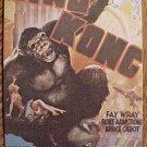Postcard - 1933 King Kong movie poster, unused, NM/M