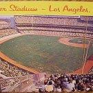 Postcard - Dodger Stadium, Los Angeles California (1960's?) Unused, EX condition