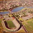 Postcard - Harvard Stadium & School, unused, EX/Nm condition