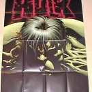 The Incredible Hulk poster, full size, NM/M, never displayed, folded, 2002