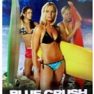 Blue Crush movie mini poster, 1/4 size, NM/M, never displayed, folded