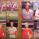 St. Louis Cardinals Ozzie Smith postcard set - 8 postcards, unused, EX/NM