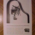 Magazine print ad - 1960's Steinway Pianos - Hepplewhite