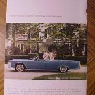 Magazine print ad - 1965 Lincoln Continental - ad version #2