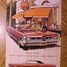 Magazine print ad - 1965 Pontiac Grand Prix