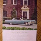 Magazine print ad - 1965 Cadillac - ad version #2
