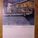 Magazine print ad - 1965 Mercury automobiles