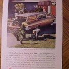 Magazine print ad - 1959 Chevrolet Chevy Nomad station wagon