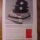 Magazine print ad - 1960's Dictabelt Dictaphone Time-master - ad version #2