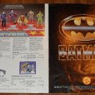 1989 ToyBiz dealer Batman & Super-hero toy ordering catalog brochure, VG/EX