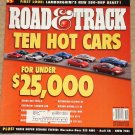 Road & Track magazine November 2001 10 hot cars for under $25,000, S55 AMG, Audi S8