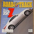 Road & Track magazine December 2001 Nissan 350Z Mercedes Benz SLK32 vs BMW M roadster