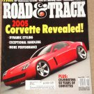 Road & Track magazine August 2002 2005 Corvette, Ford SVT Mustang Cobra, VW Passat W8