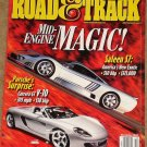 Road & Track magazine December 2000 Saleen S7, Porsche Carrera GT V-10, Jaguar X-type