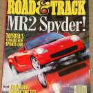 Road & Track magazine December 1999 Toyota MR2 Spyder, Jaguar XKR, winter tire test