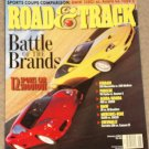 Road & Track magazine January 2001 BMW 330Ci vs Acura CL Type S, 12 sports car shootout