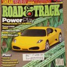 Road & Track magazine January 2005 Ferrari F430, Mercedes SL65 AMG, Aston Martin DB9