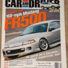 Car & Driver magazine February 2000 168 mph Ford Mustang, BMW X5, Mercedes CL500, Lincoln LS