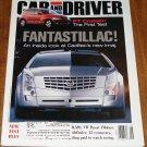 Car & Driver magazine June 2000 Chrysler PT Cruiser, Cadillac Imaj, VW passat, 13 econocars