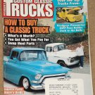Custom Classic Trucks magazine October 1998 Hoy to buy a classic, brake upgrades, interior parts