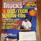 Custom Classic Trucks magazine June 1997 tips/tech & how-tos, custom beds, steering wheel repairs