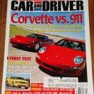 Car & Driver magazine December 2004 Chevy Corvette vs Porsche 911, Ford Mustang GT, BMW M5