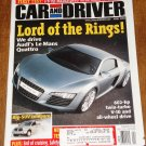 Car & Driver magazine april 2004 Audi Le Mans Quattro, Mazdaspeed turbo Miata, Big SUV's