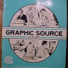 Graphic Source Clip Art - Men, 1986 EX condition, SC softcover book