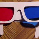 One pair of 3D (3-D) glasses