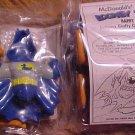 Bat Duck figure (Daffy Duck) - 1991 McDonalds Happy Meal toy, MIP never opened