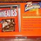 Jackie Robinson Wheaties mini cereal box, 1999, MIP, 24k signature, Ltd Ed collectible