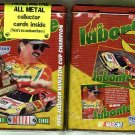 Terry Labonte METAL NASCAR card set, MIB never opened, 4 metal cards by Kelloggs, 1997