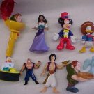 Assorted Disney fast food toys & figures - Mickey Mouse, Hunchback, Donald Duck, MORE!