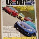 Car & Driver magazine July 2008 - Chinese version, Audi A4, M3 vs RS4 vs C63 vs ISF