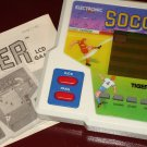 Classic 1989 Tiger Electronic Handheld LCD Soccer game, works great! w/ instructions