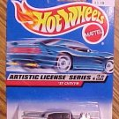 1997 Hot Wheels Artistic License series 2/4 1957 '57 Chevy die cast (diecast) car, MIP